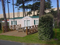 Village Center Camping de la Foret • éco-Tourisme • PYLA SUR MER