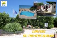 Camping du Théâtre Romain • éco-Tourisme • VAISON LA ROMAINE
