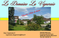 Domaine La Vigneraie • chambres d'hôtes • STE GEMME MORONVAL (1)
