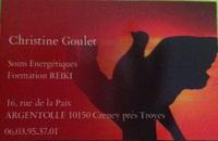 Christine Goulet • praticien en reiki • CRENEY PRES TROYES